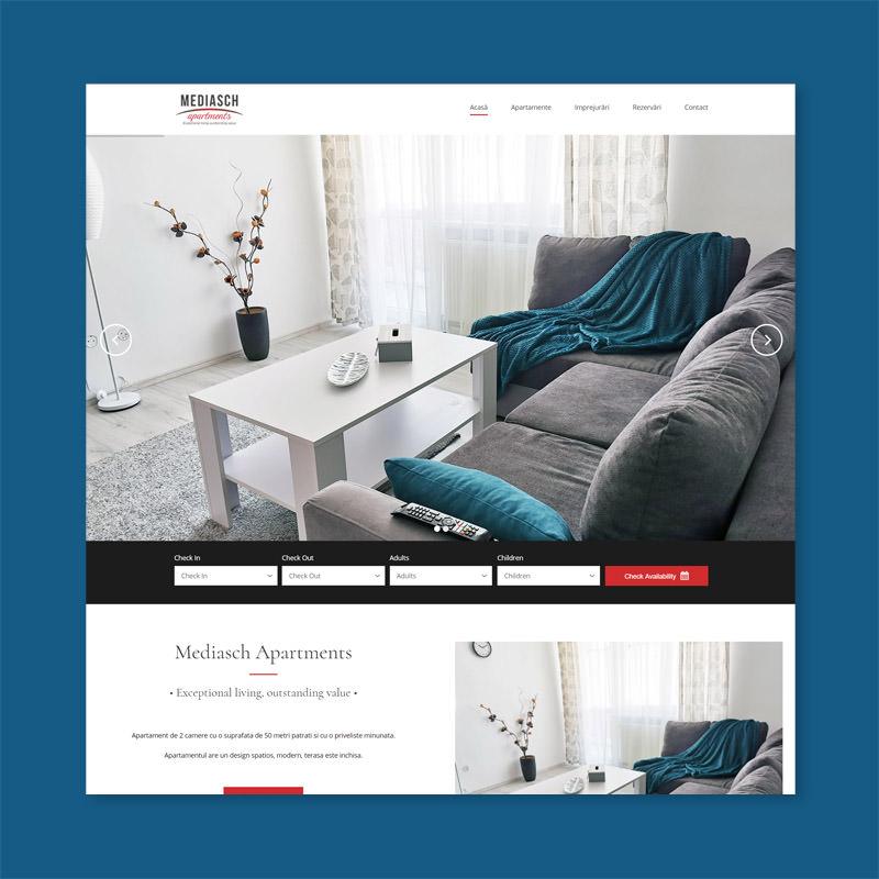 Apartment Rental Experts: Romanian Web Design Company Web Development • Web Design