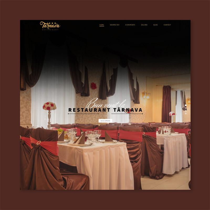 restaurant food website design company web development